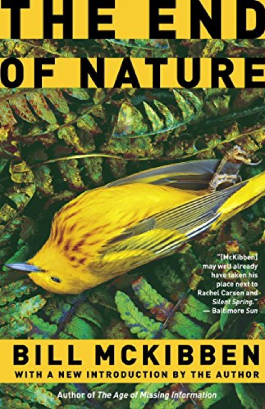 Cover of The End of Nature