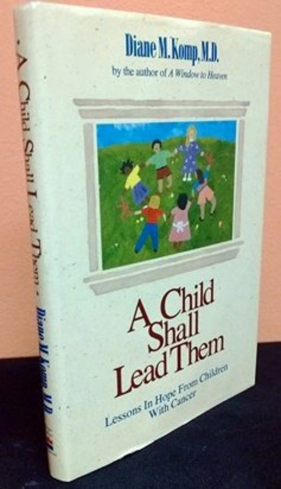 Cover of A Child Shall Lead Them: Lessons About Hope from Children With Cancer