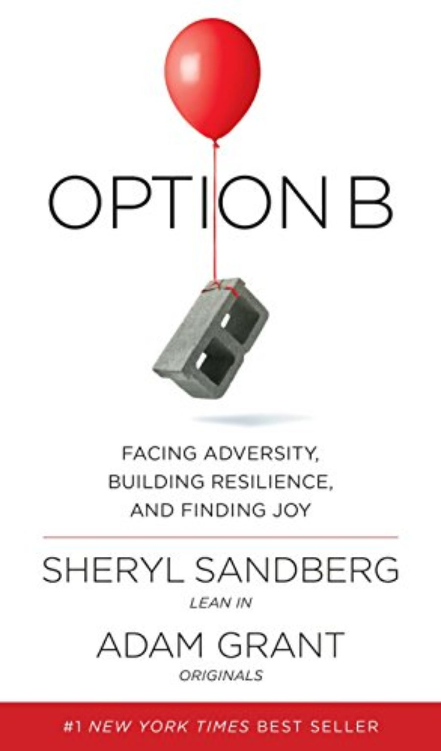Cover of Option B: Facing Adversity, Building Resilience, and Finding Joy