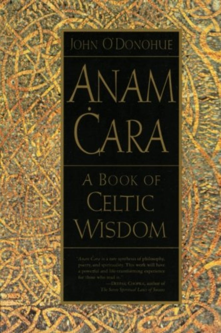 Cover of Anam Cara: A Book of Celtic Wisdom