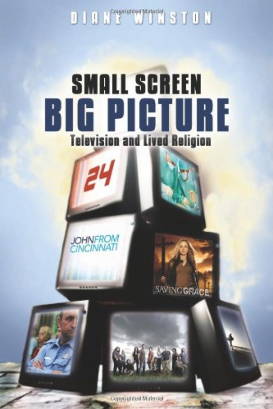 Cover of Small Screen, Big Picture: Television and Lived Religion