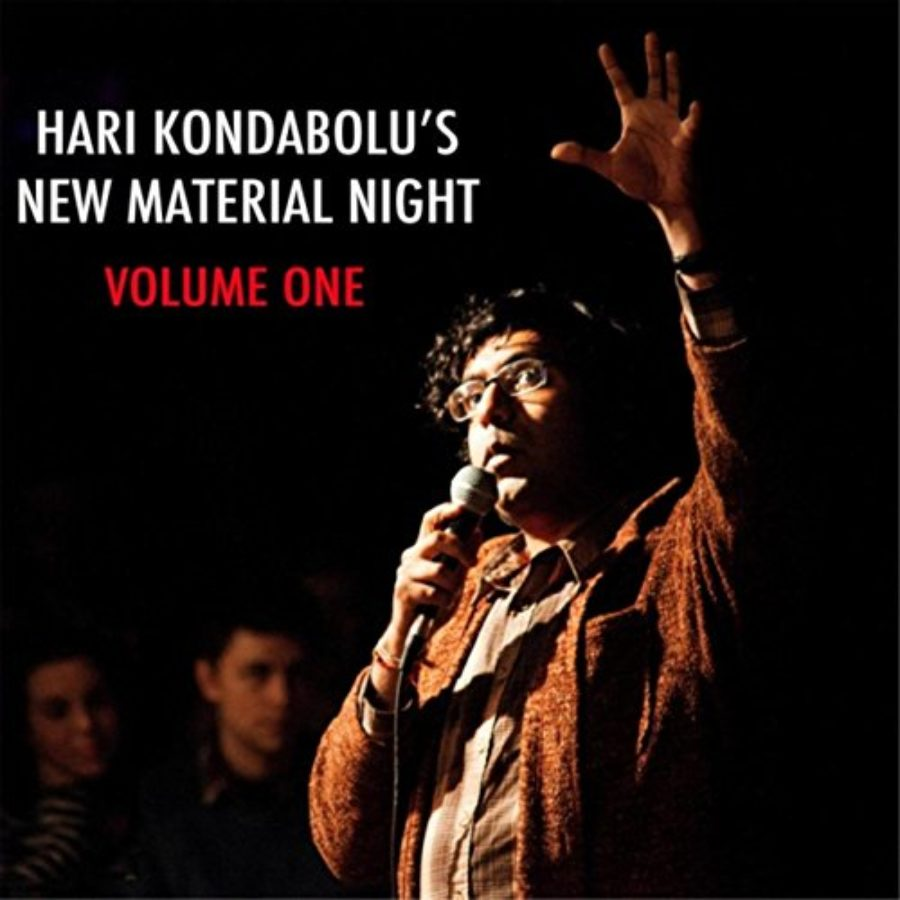 Cover of Hari Kondabolu's New Material Night, Vol. 1 [Explicit]