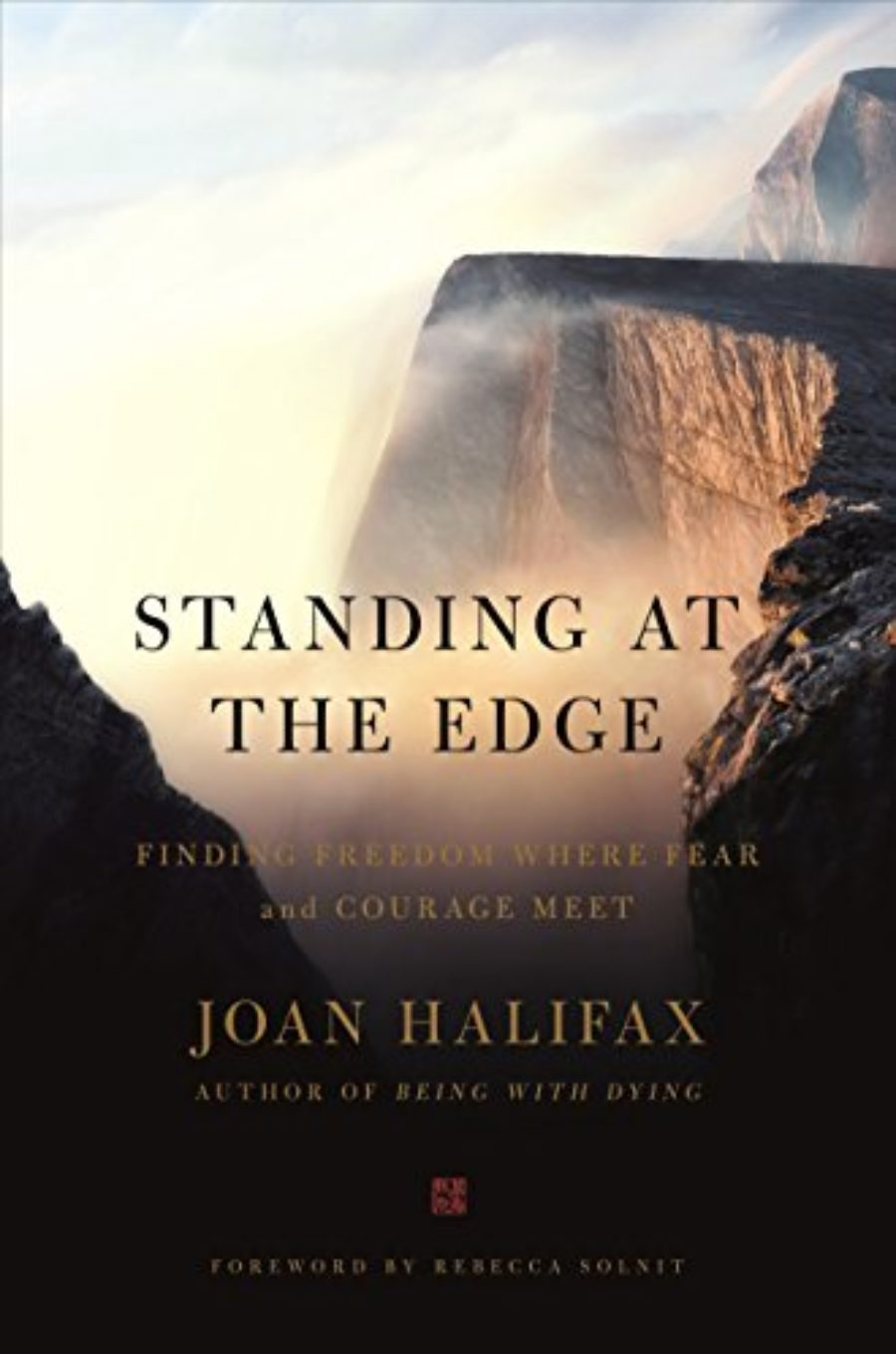 Cover of Standing at the Edge: Finding Freedom Where Fear and Courage Meet