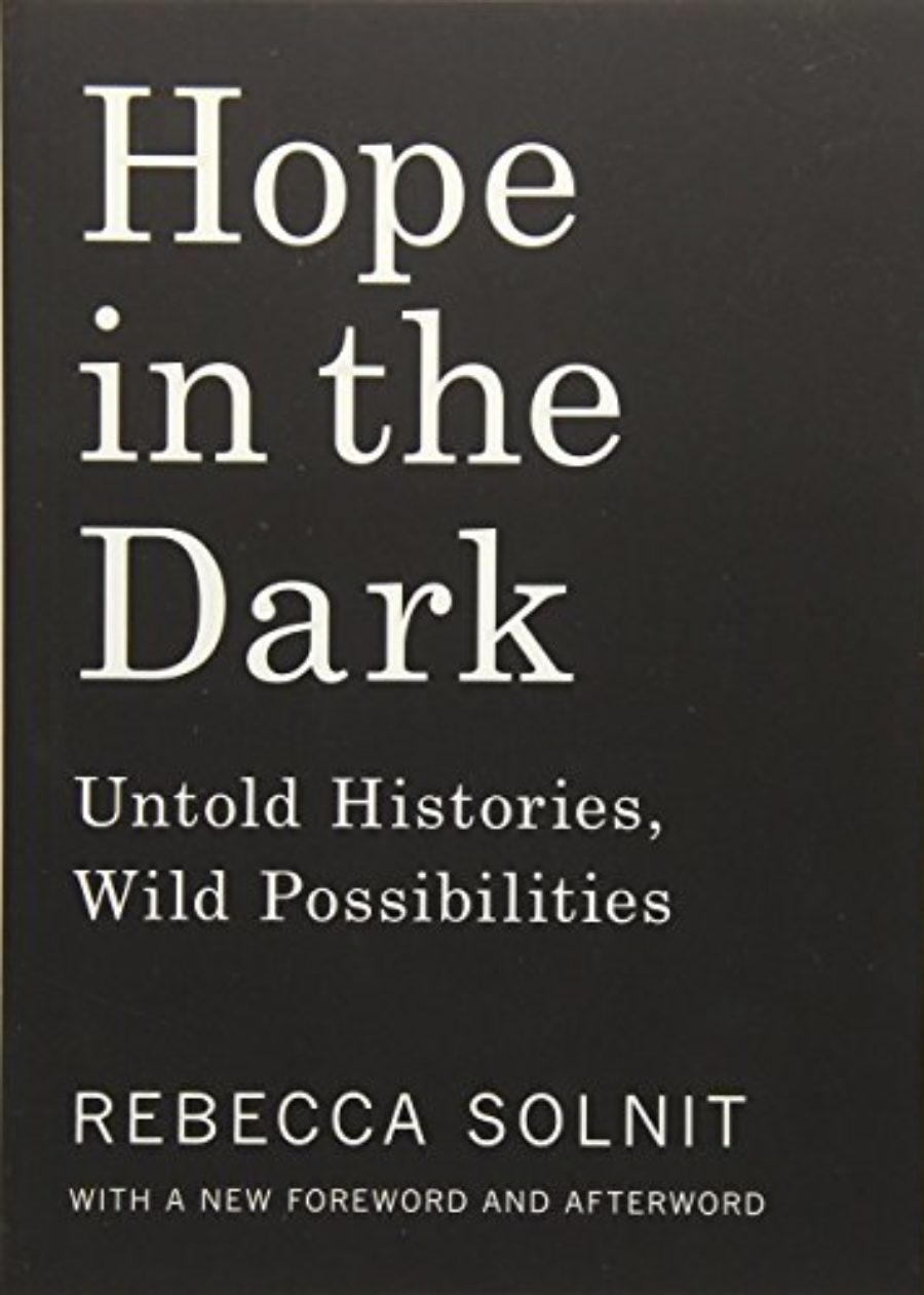 Cover of Hope in the Dark: Untold Histories, Wild Possibilities