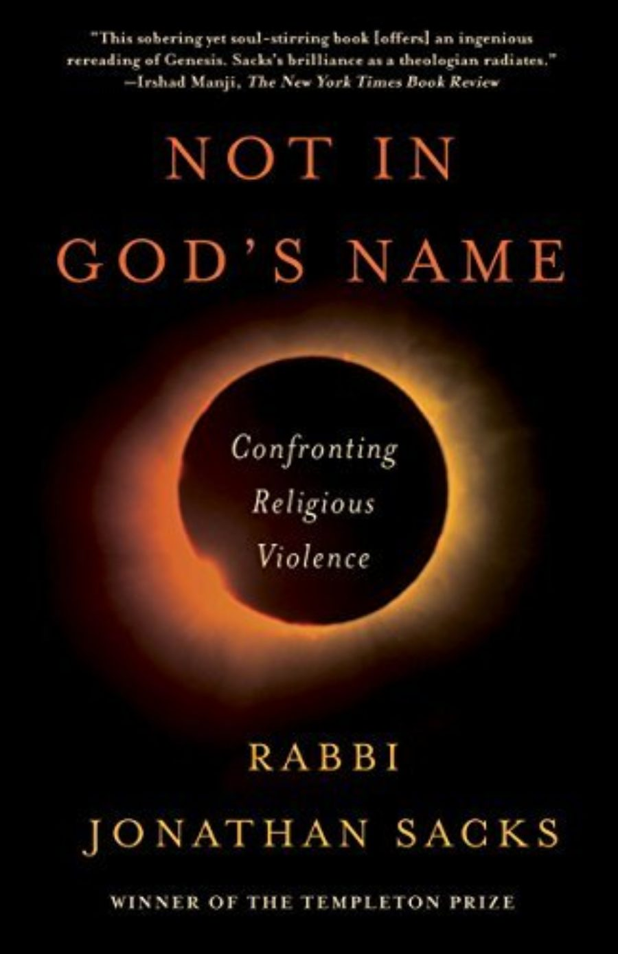 Cover of Not in God's Name: Confronting Religious Violence