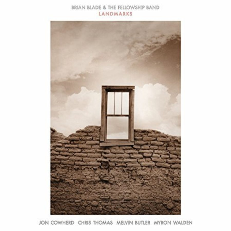 Cover of Landmarks by Brian Blade & The Fellowship Band (2014-08-03)