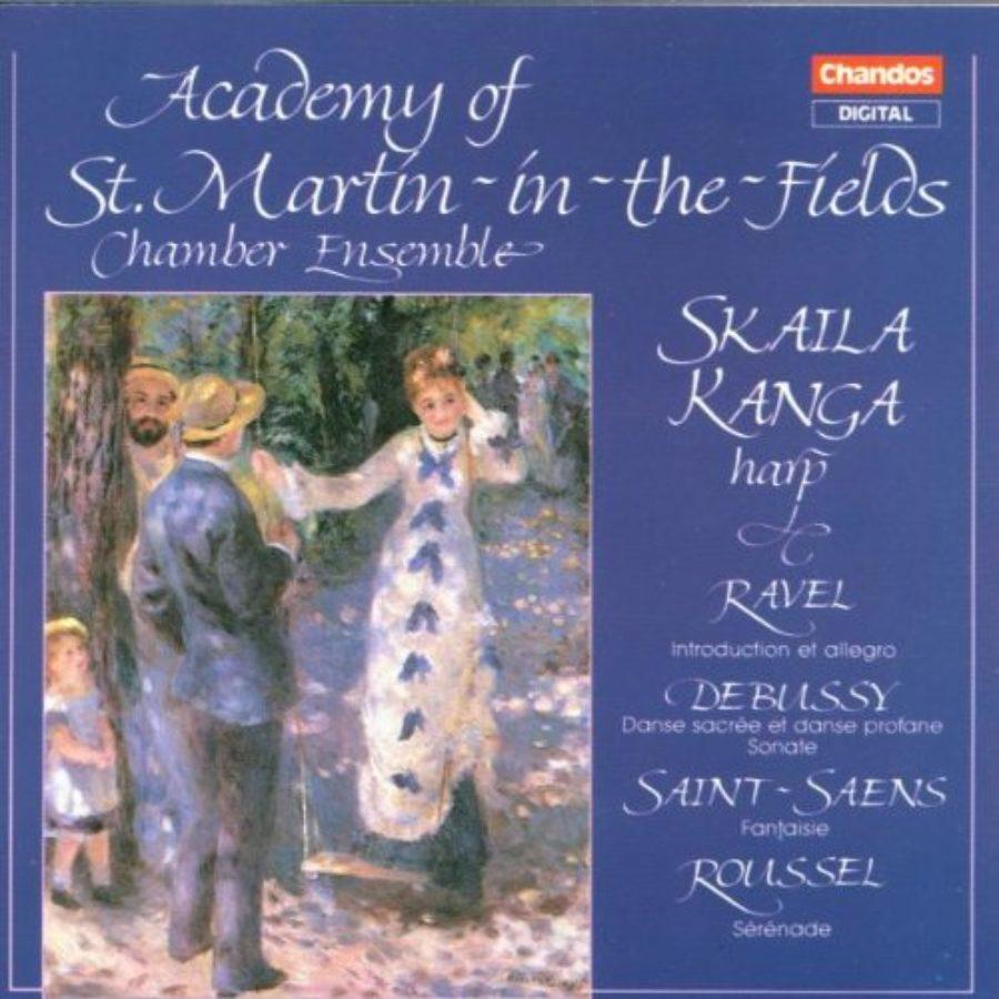 Cover of Academy of St Martin-in-the-Fields Chamber Ensemble / Skaila Kanga Harp