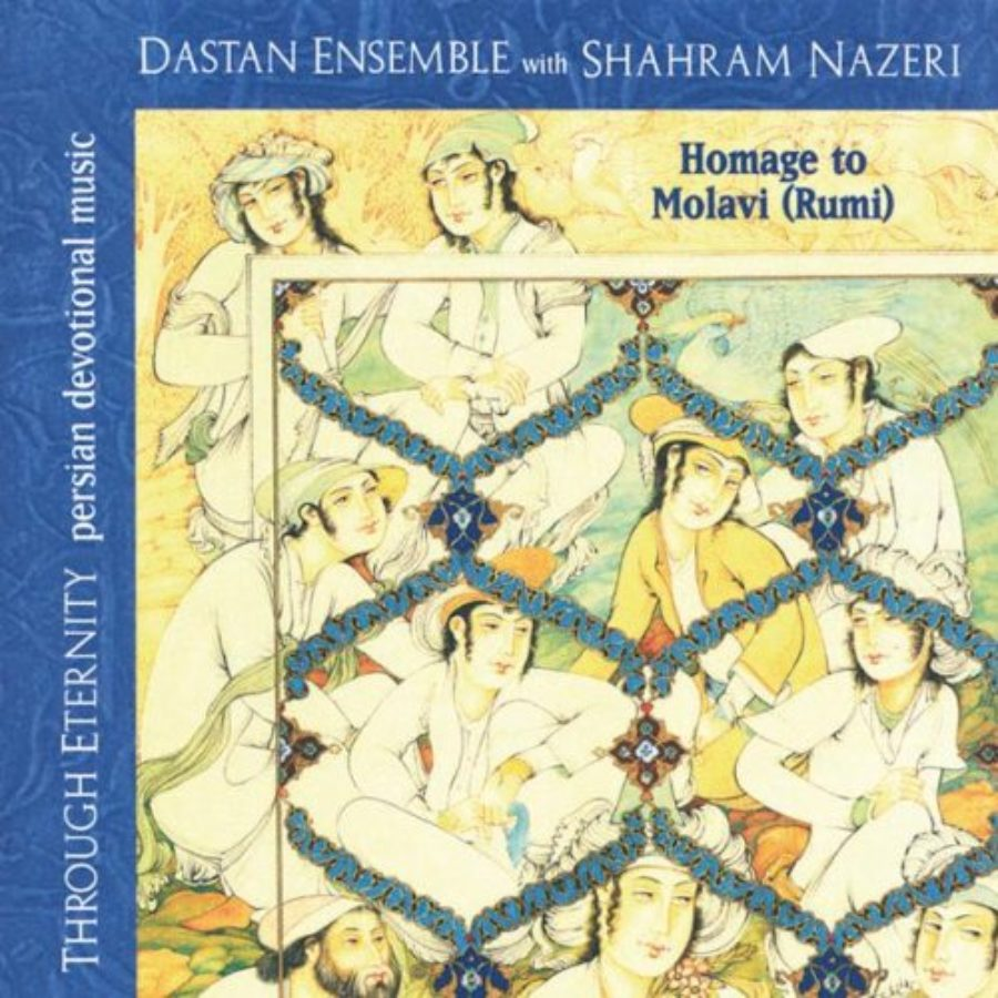 Cover of Through Eternity: Homage to Molavi (Rumi)