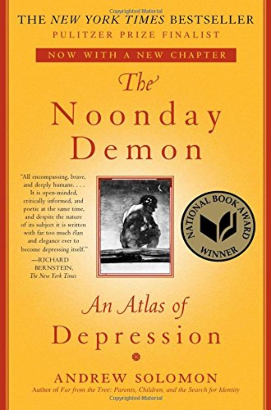 Cover of The Noonday Demon: An Atlas of Depression