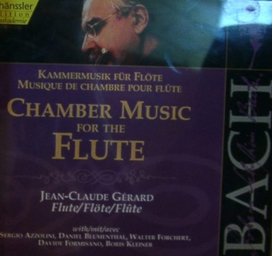 Cover of Bach: Chamber Music for the Flute
