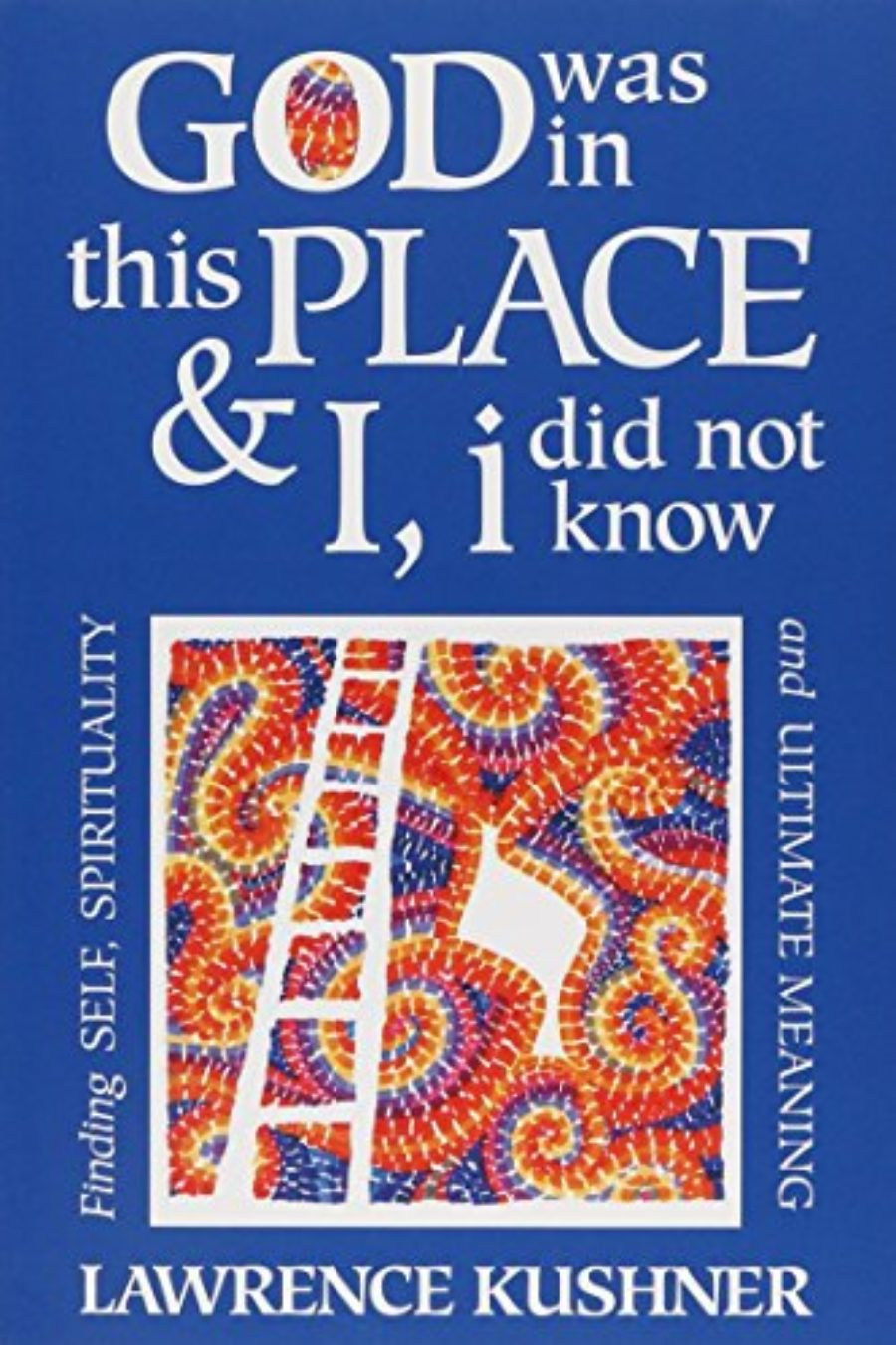 Cover of God Was in This Place & I, i Did Not Know: Finding Self, Spirituality and Ultimate Meaning (Kushner)
