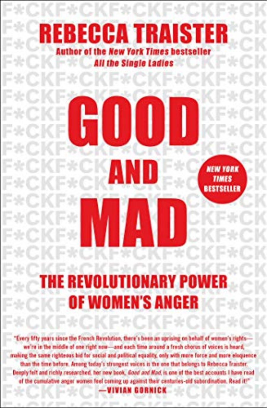 Cover of Good and Mad: The Revolutionary Power of Women's Anger