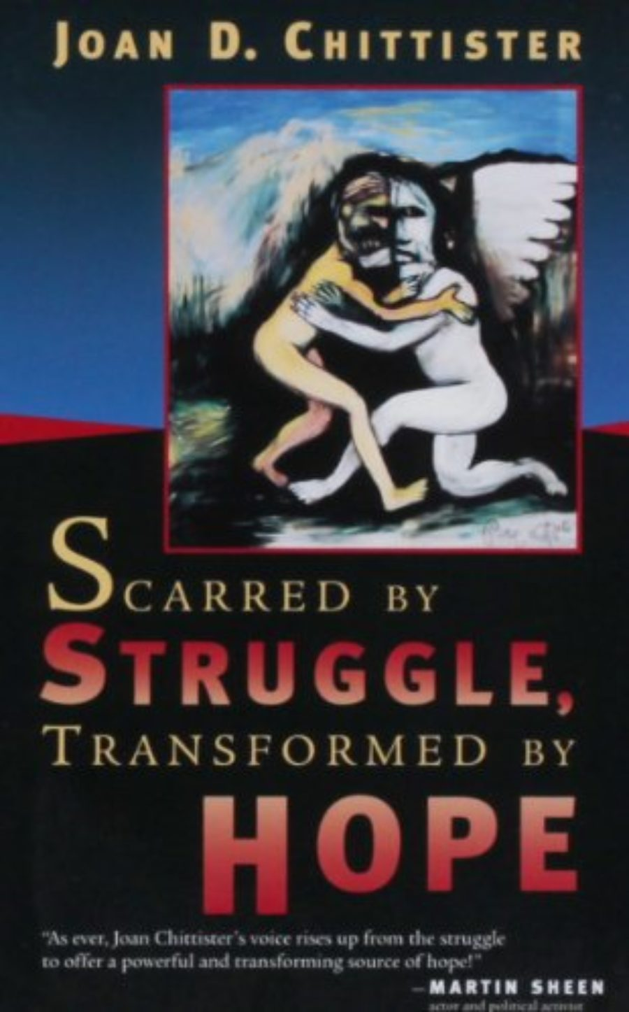Cover of Scarred by Struggle, Transformed by Hope