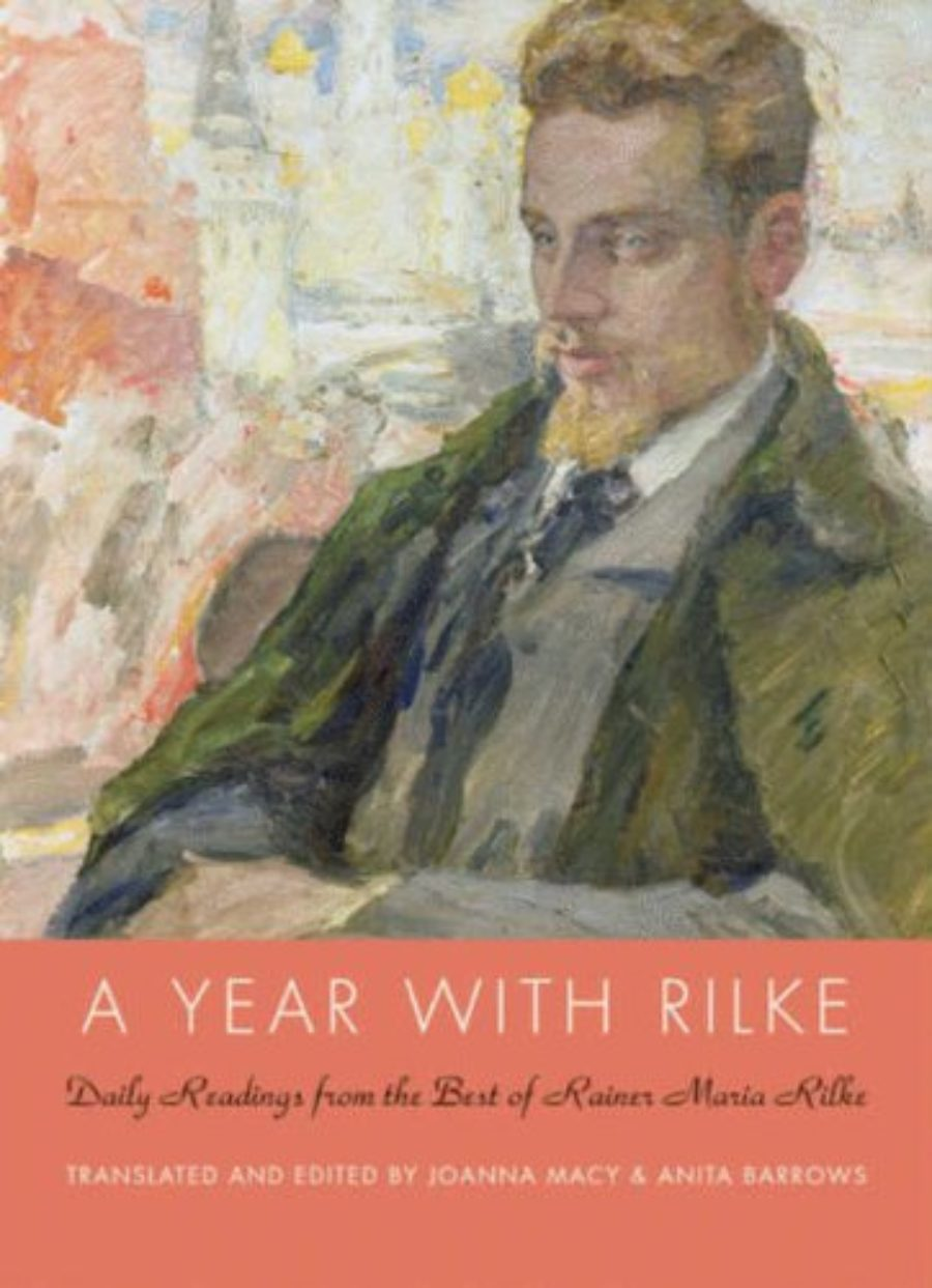 Cover of A Year with Rilke: Daily Readings from the Best of Rainer Maria Rilke