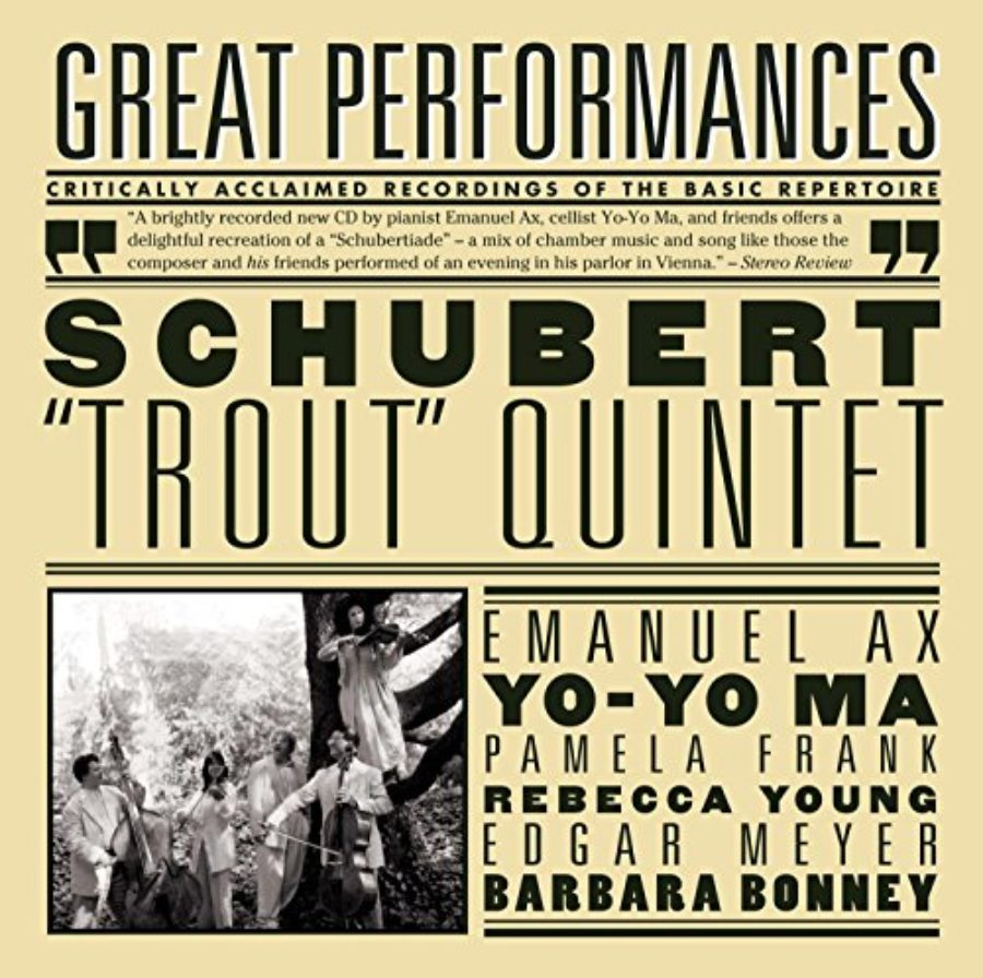 Cover of Schubert: Trout Quintet; Arpeggione Sonata; Die Forelle