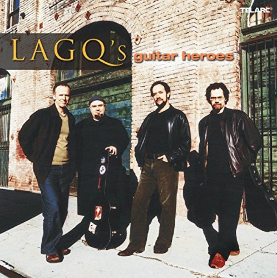 Cover of LAGQ's Guitar Heroes