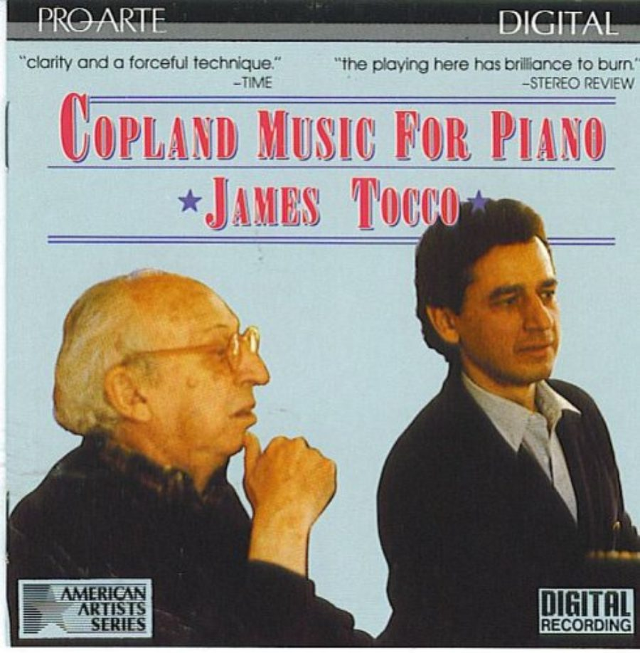 Cover of Copeland: Music For Piano James Tocco, Piano