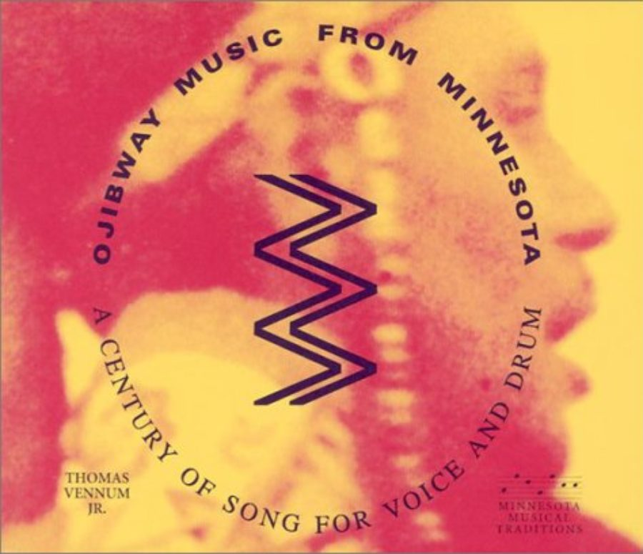 Cover of Ojibway Music from Minnesota: A Century of Song for Voice and Drum (MHS Minnesota Musical Traditio)