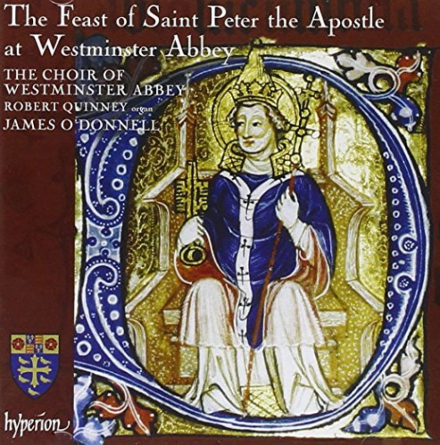 Cover of The Feast of St. Peter the Apostle at Westminster Abbey