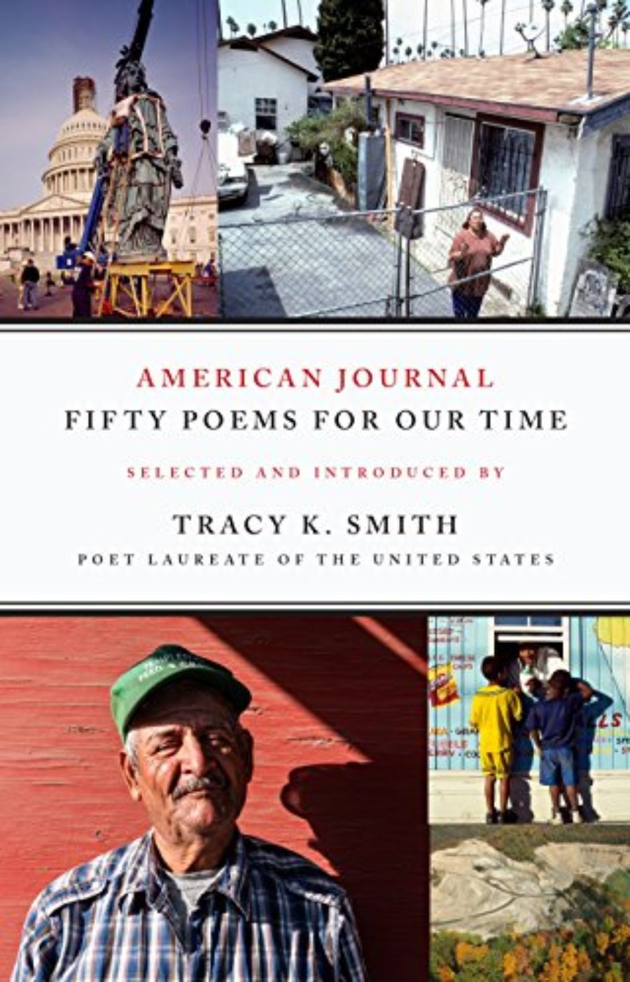 Cover of American Journal: Fifty Poems for Our Time