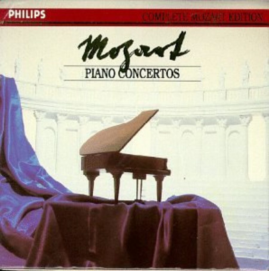 Cover of Mozart Piano Concertos: Complete Mozart Edition
