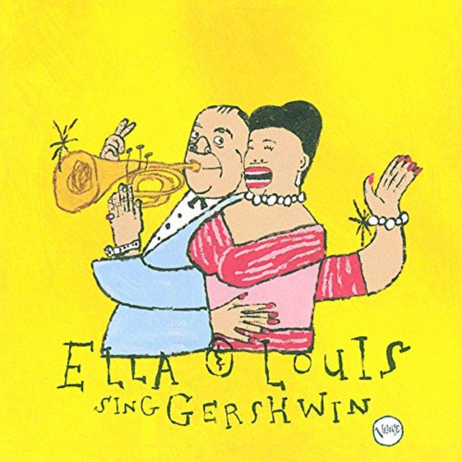 Cover of Our Love Is Here To Stay: Ella & Louis Sing Gershwin