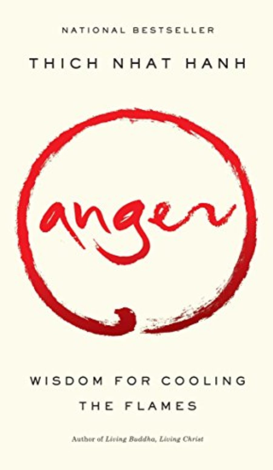 Cover of Anger: Wisdom for Cooling the Flames