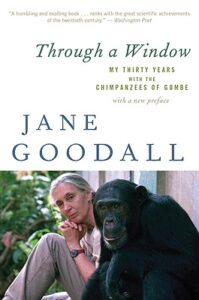 Cover of Through a Window: My Thirty Years with the Chimpanzees of Gombe