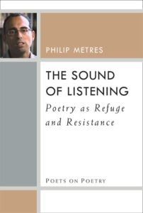 Cover of The Sound of Listening: Poetry as Refuge and Resistance