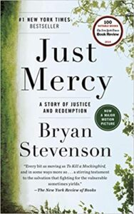 Cover of Just Mercy: A Story of Justice and Redemption