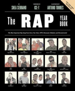 Cover of The Rap Year Book: The Most Important Rap Song from Every Year Since 1979, Discussed, Debated, and Deconstructed