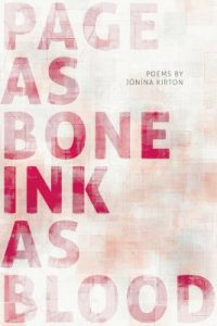 Cover of Page as Bone - Ink as Blood