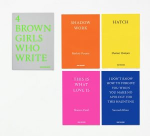Cover of 4 BROWN GIRLS WHO WRITE