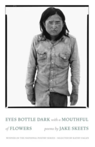 Cover of Eyes Bottle Dark with a Mouthful of Flowers